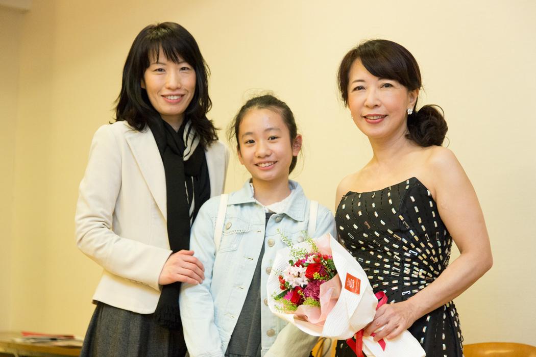 加藤優佳ちゃん&ママと私