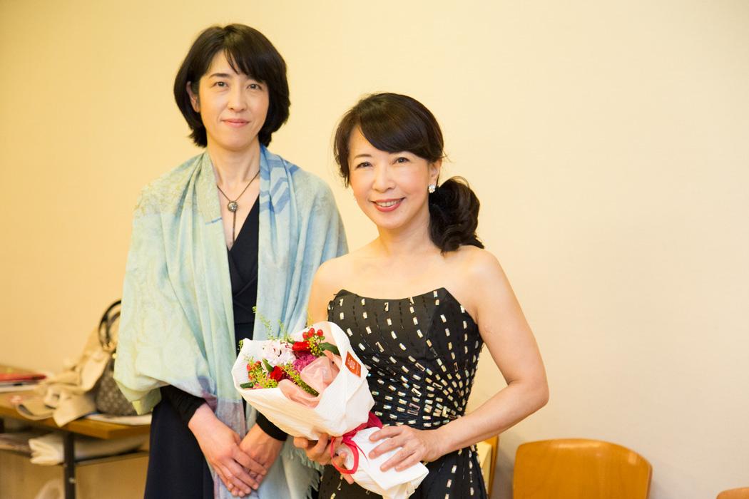 田中貴子さん&私