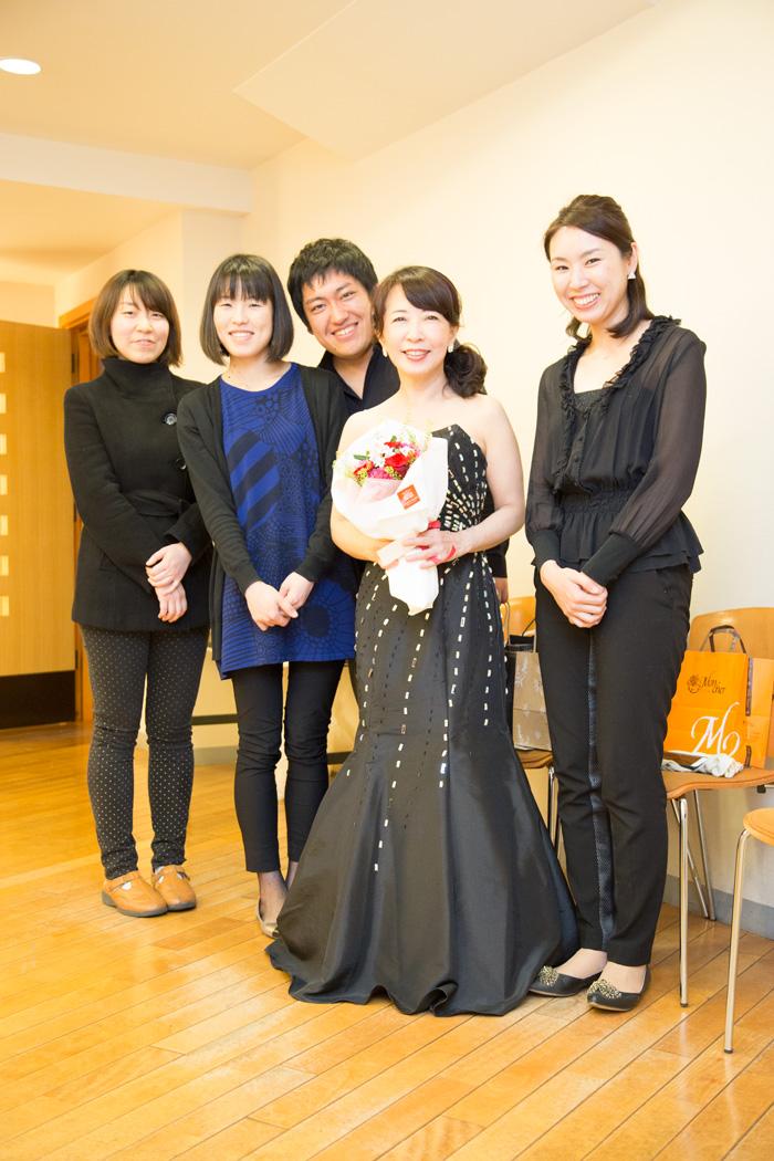 黒崎さん、河村さん、佐久間さん、加藤さんと私