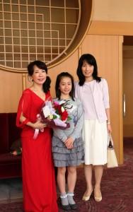 加藤優佳ちゃんとママと