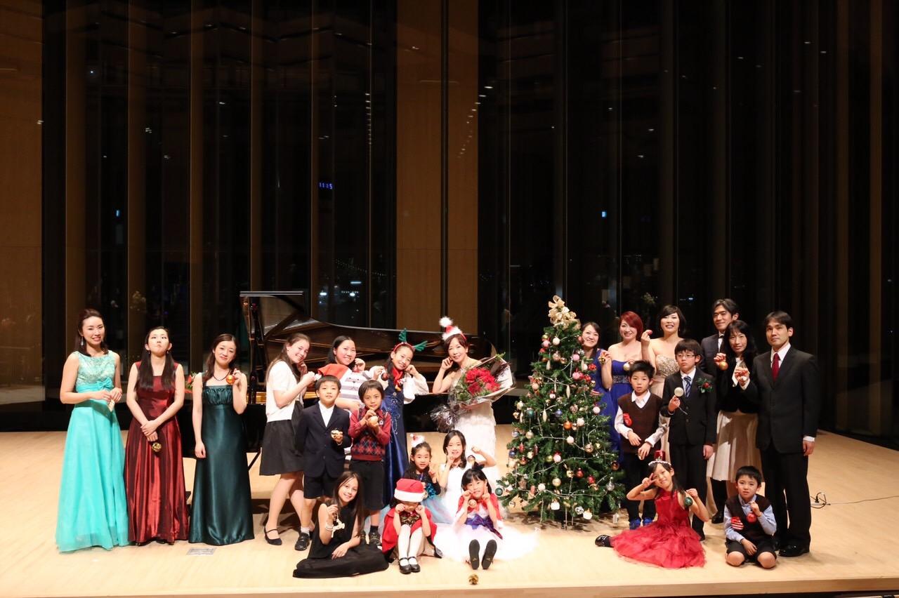 クリスマスコンサート2015集合写真笑オリジナル