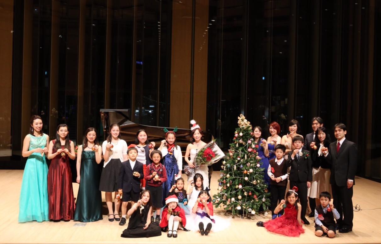 クリスマスコンサート2015集合記念写真