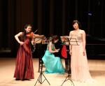 クリスマスコンサート2015黒崎トリオ