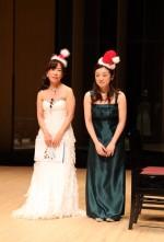 クリスマスコンサート2015亜沙紀&祥子ご挨拶
