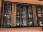 豊洲シビックセンターホールステージと夜景