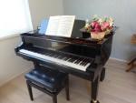 酒井加奈さんのピアノ
