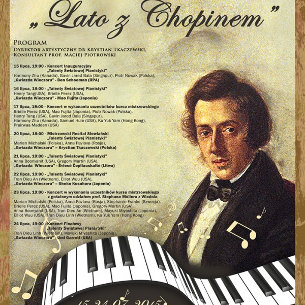 Summer with Chopin